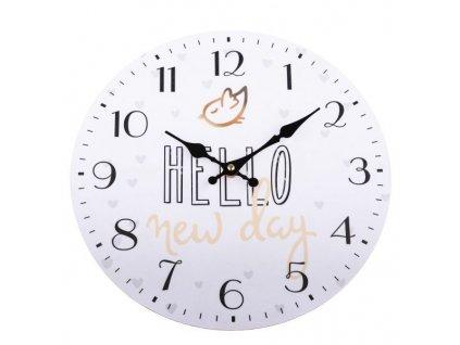 hodiny Hello