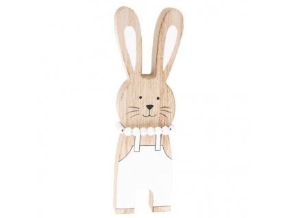 Dřevěný zajíček-Dakls