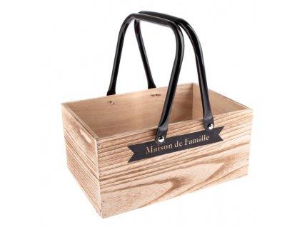 Dřevěná bedýnka -Dakls