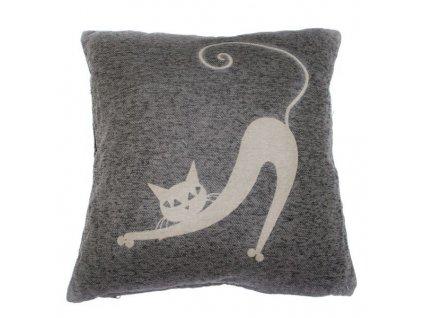 Návlek na polštář kočka