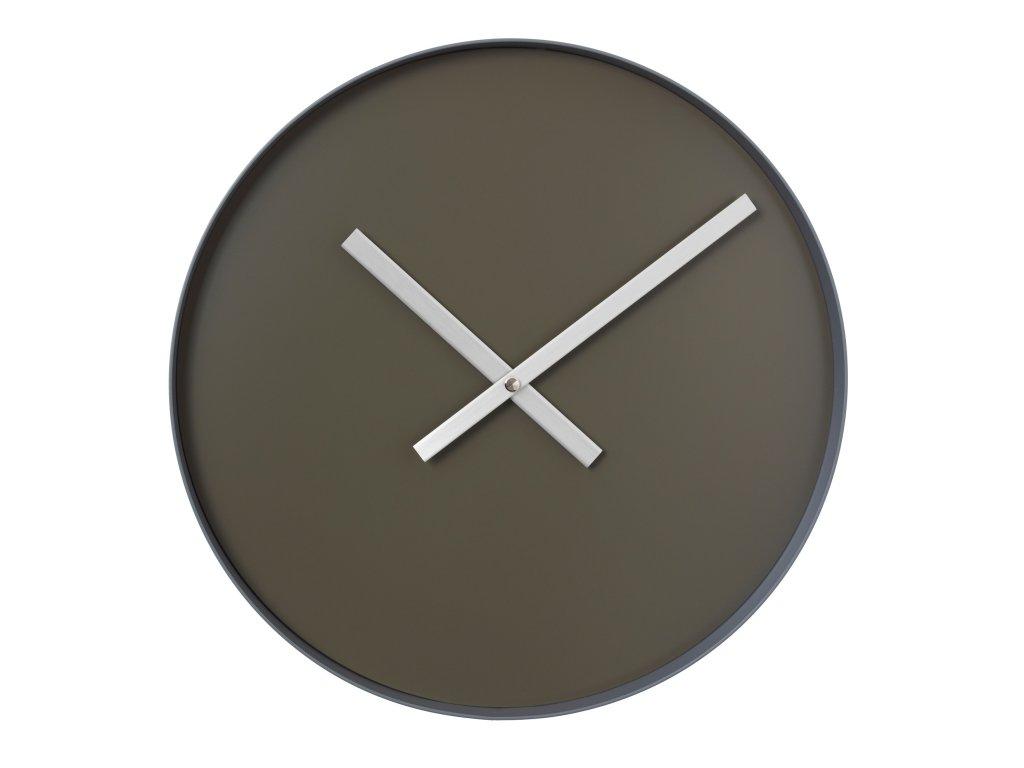 0042292 nastenne hodiny rim velke tmave sede 0