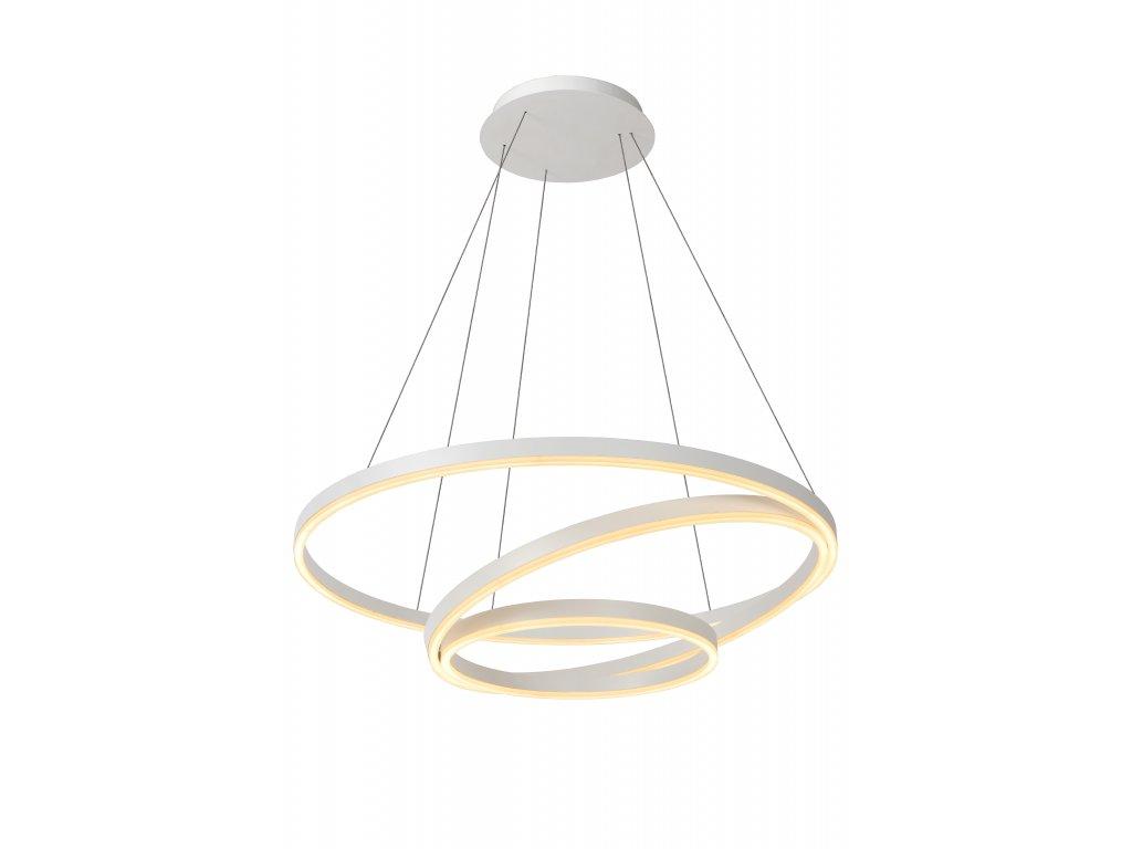 závesná lampa TRINITI biela