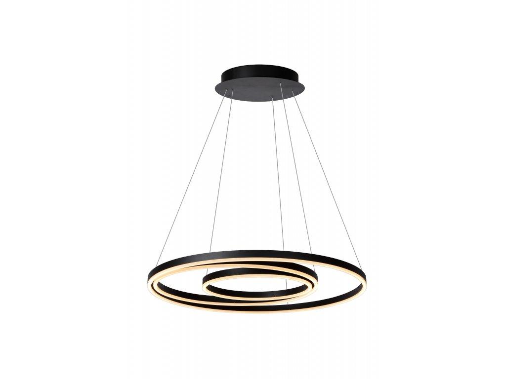 závesná lampa TRINITI čierna