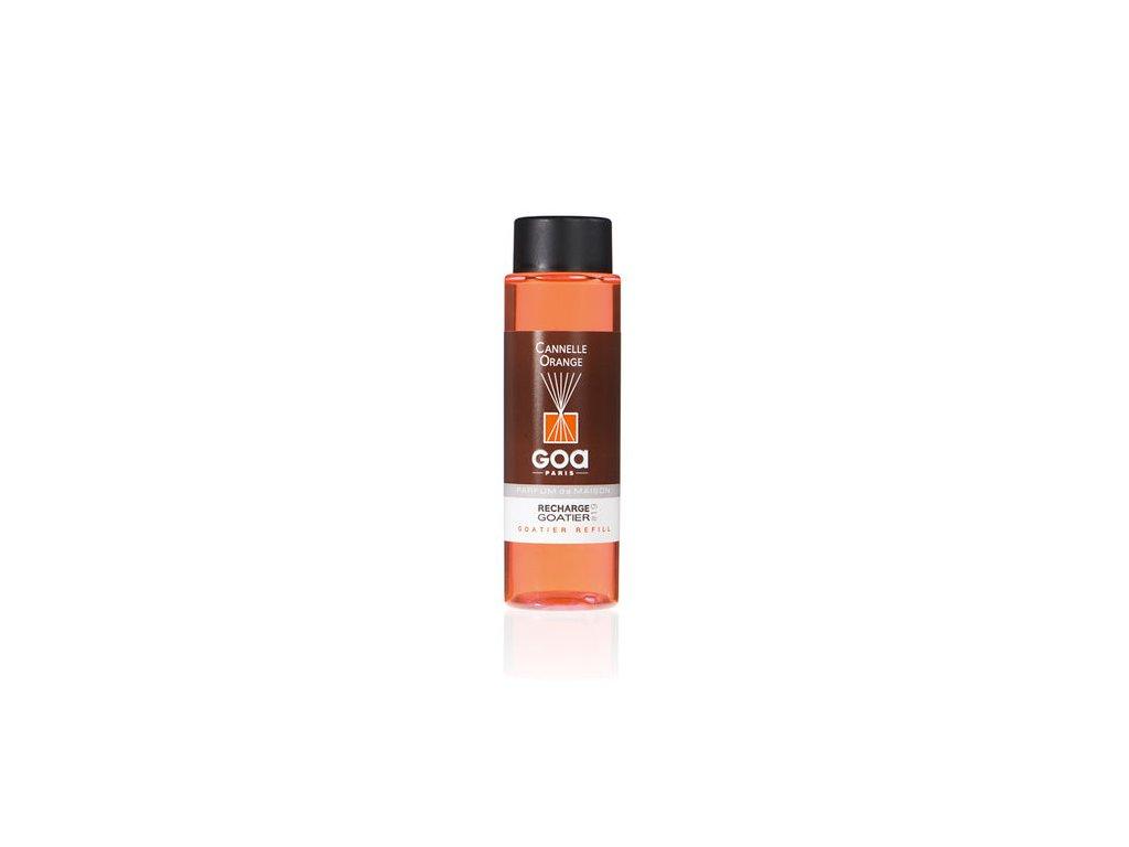 NÁPLŇ do difuzérov RECHARGES 250 ml: vôňa 19 - pomarančová škorica