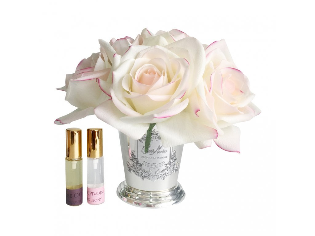 seven rose bouquet pink blush 614140