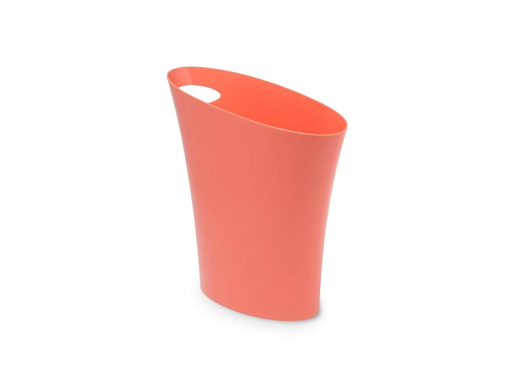 0045159 odpadkovy kos skinny 75 l koralovy 4