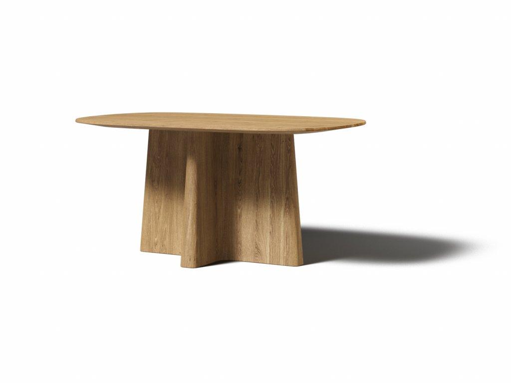 masivny dubovy jedalensky stol xx 160