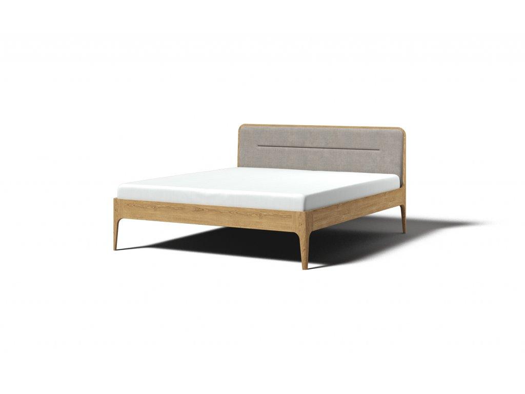 masivna dubova postel s calunenim aira 160x200