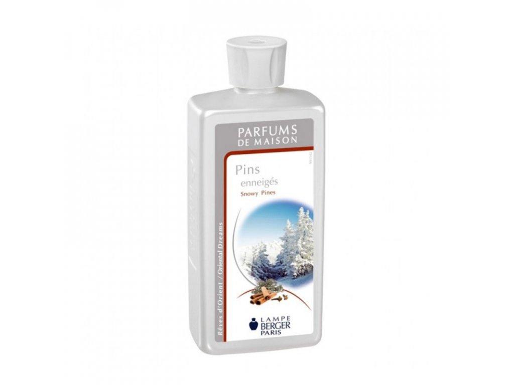 Interiérový parfém Lampe Berger Pins enneigés 500ml