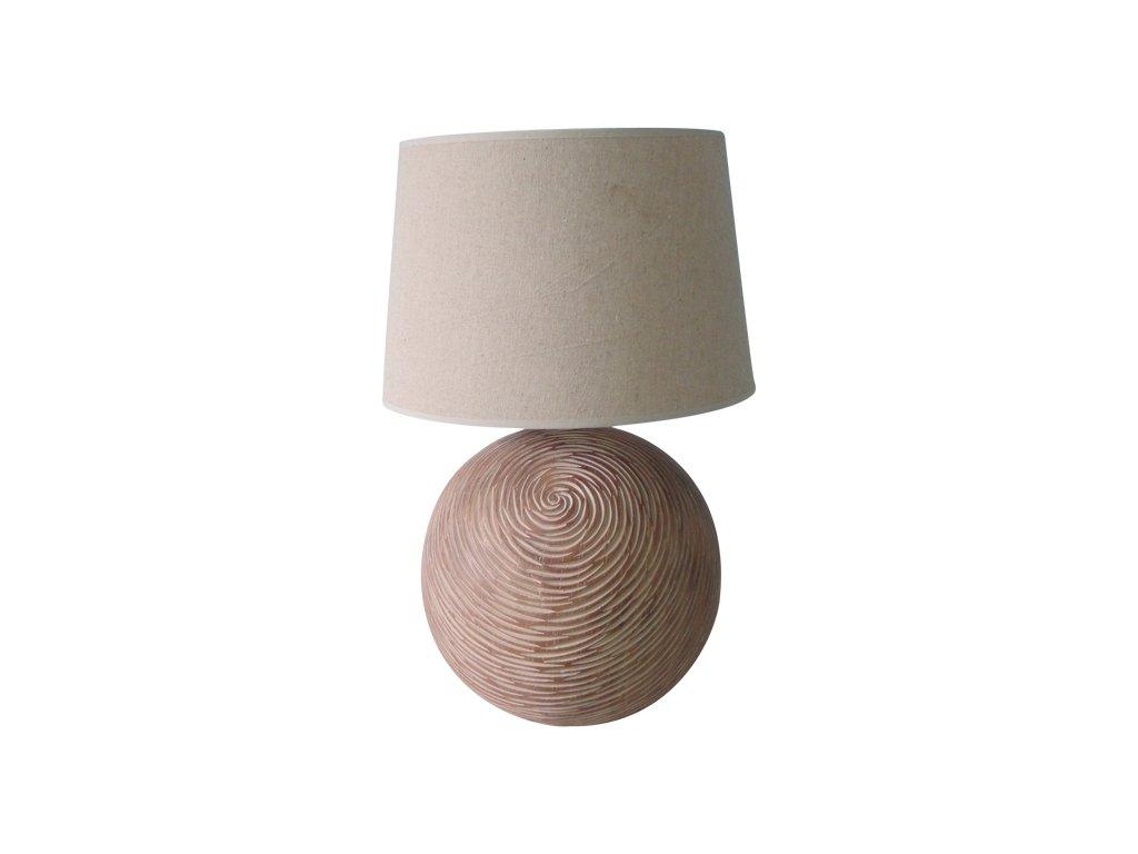 Pine - polyrezinová lampa