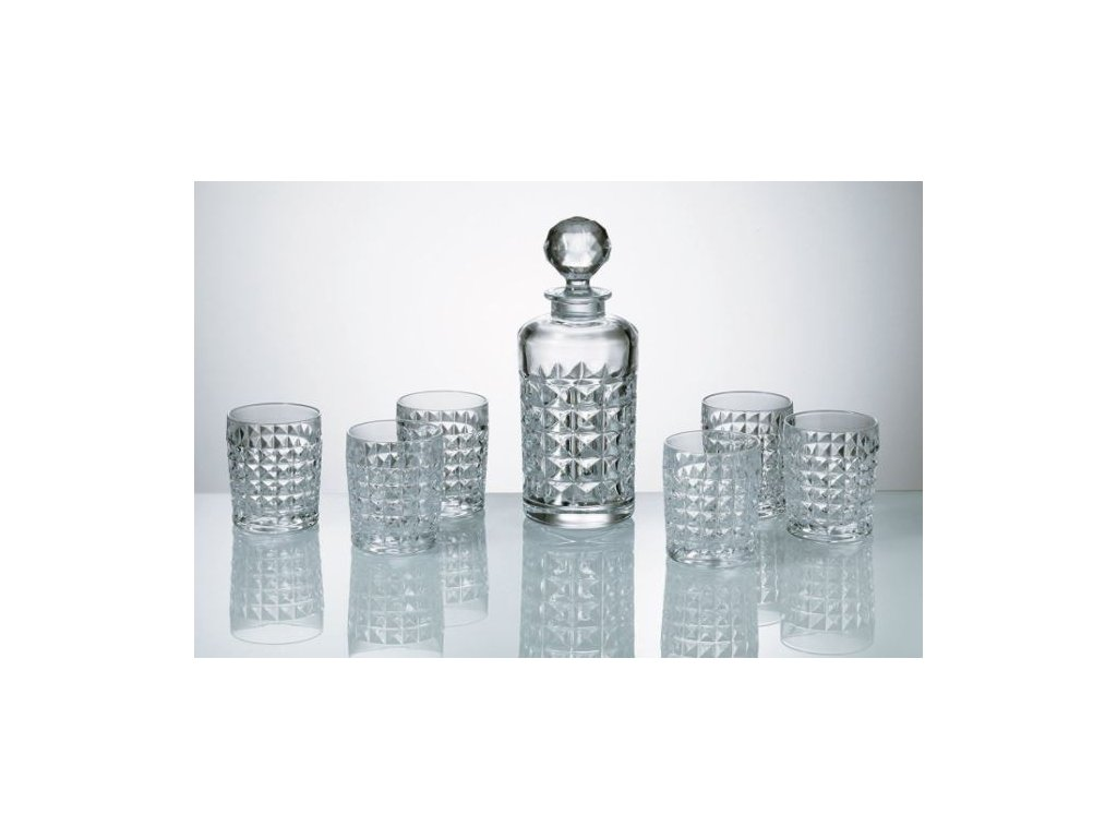 diamond whisky set