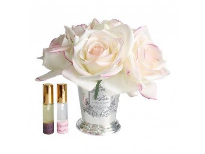 seven rose bouquet pink blush 614140