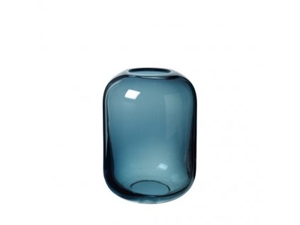 0046250 sklenena vaza ovalo 215 cm modra 0 550