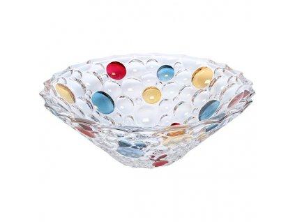 Miska krištálová Lisboa bowl 30 cm