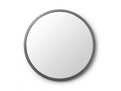 Zrkadlo sedozelene HUB