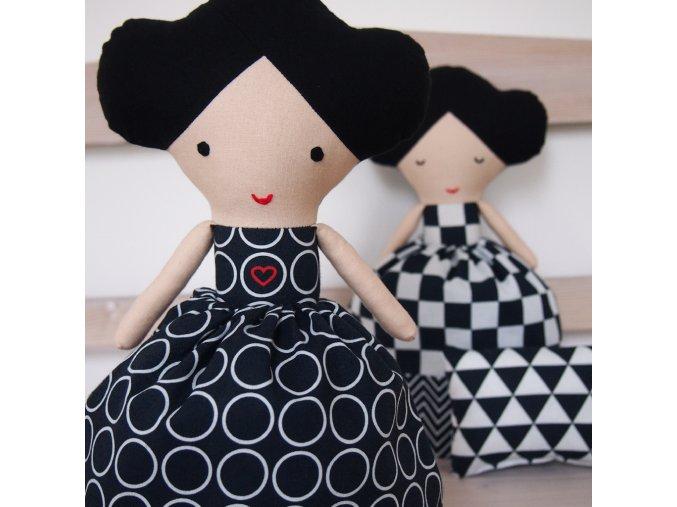 dvojita panenka spi ci bdi CB se srdickem1
