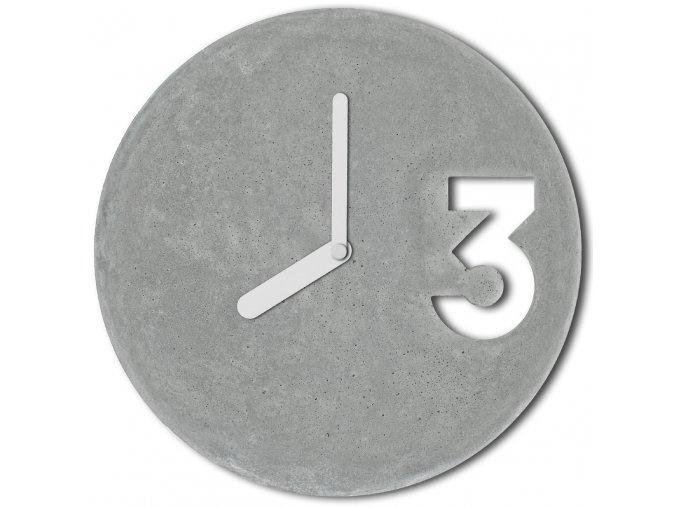 betonove hodiny concrete clock white full velinsky bp