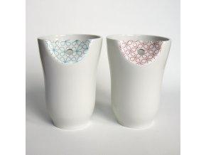 pohárek dekorovaný