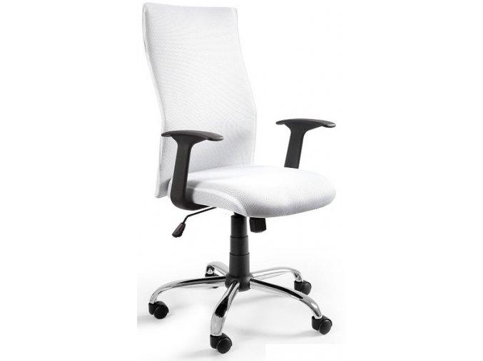 Kancelářská židle Step, bílá - 1