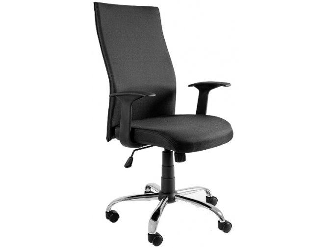 Kancelářská židle Step, černá - 1