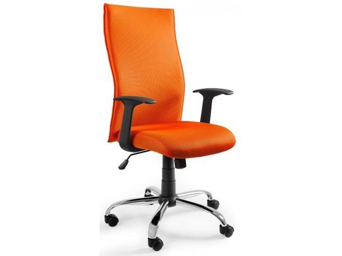 Kancelářská židle Step, oranžová - 1