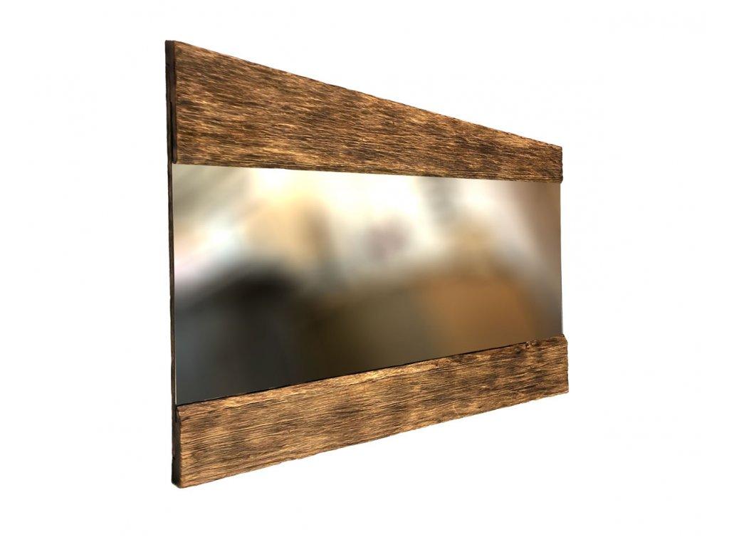 Dřevěné Zrcadlo Julia Technika Hlubokeho Opalování Dřeva Designová Zrcadla