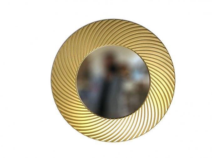 kulate zrcadlo diana 50cm zlata barva 02
