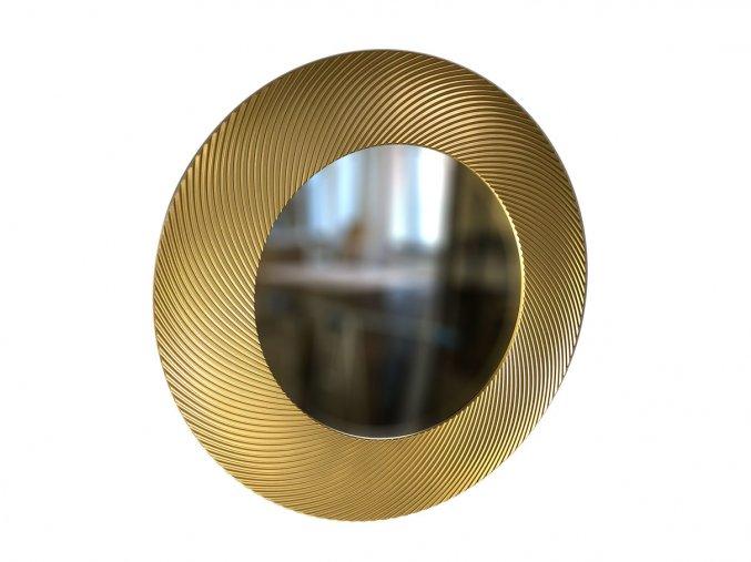 kulate zrcadlo diana 90cm zlata barva 01