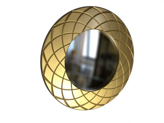 kulate zrcadlo amadeus laura 50cm zlata barva 01