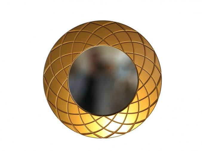 kulate zrcadlo amadeus laura 50cm bronzova barva 02