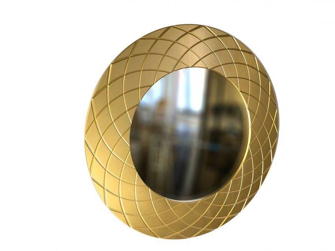 kulate zrcadlo amadeus laura 90cm zlata barva 01
