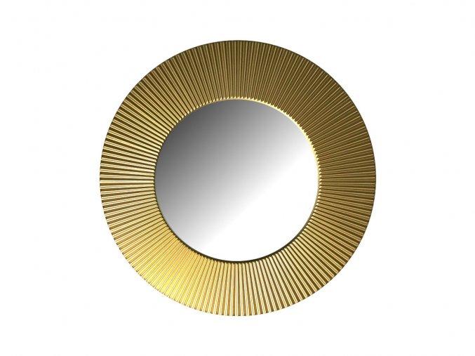 kulate zrcadlo slunce 50cm zlata barva 02
