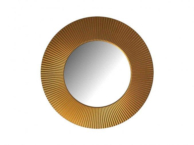kulate zrcadlo slunce 50cm bronzova barva 02