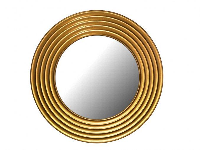 kulate zrcadlo gala 90cm bronzova barva 02