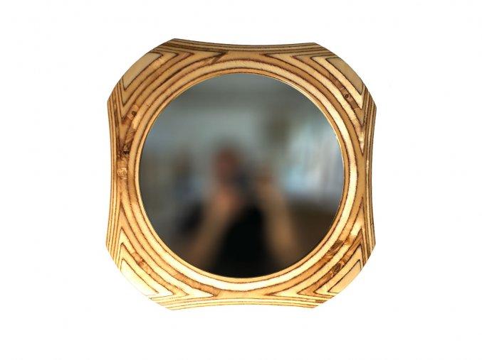 drevene kulate zrcadlo viola 50cm 04