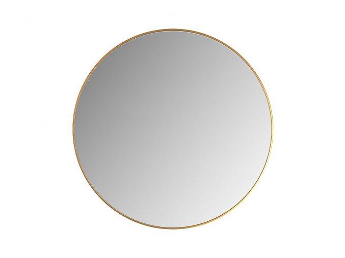 kulate zrcadlo tina 55cm bronzove 01