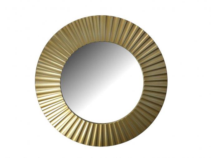 kulate zrcadlo lea 90cm zlata barva stribrna patina 02