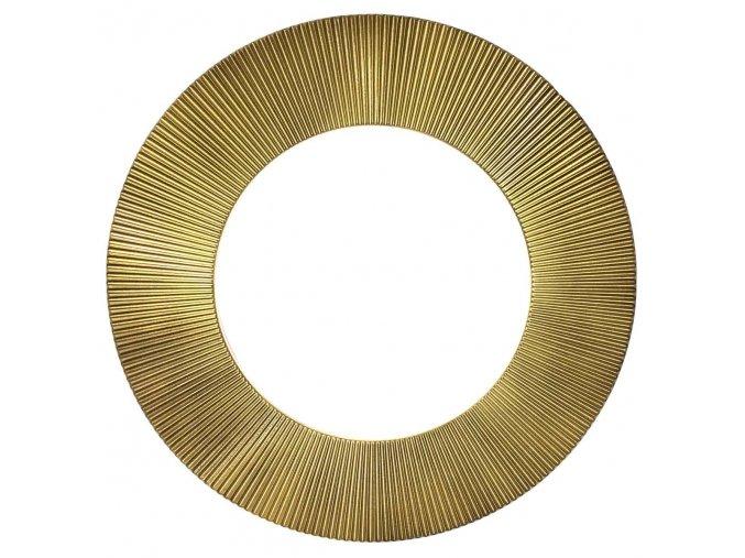 kulate zrcadlo slunce 50cm zlata barva cerna patina 02