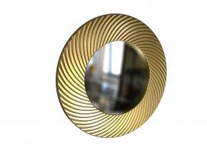 kulate zrcadlo diana 50cm zlata barva 01