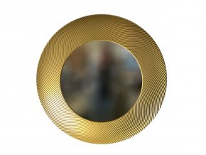 kulate zrcadlo diana 90cm zlata barva 02