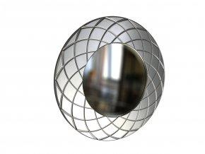 kulate zrcadlo amadeus laura 50cm stribrna barva 01