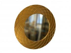 kulate zrcadlo amadeus laura 90cm bronzova barva 01