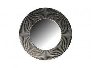 kulate zrcadlo slunce 50cm stribrna barva cerna patina 02