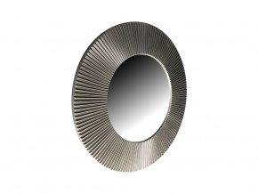 kulate zrcadlo slunce 50cm stribrna barva cerna patina 01