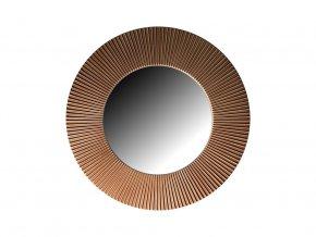 kulate zrcadlo slunce 50cm stribrna barva hneda patina 02