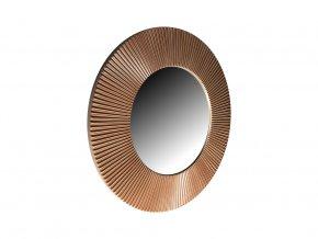 kulate zrcadlo slunce 50cm stribrna barva hneda patina 01