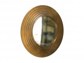 kulate zrcadlo eva 50cm bronzova barva cerna patina 04