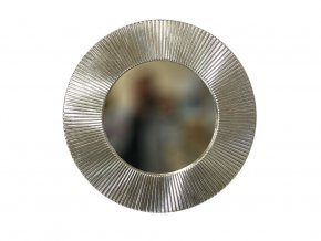 kulate zrcadlo slunce 50cm platkove stribro 02