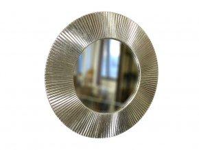 kulate zrcadlo slunce 50cm platkove stribro 01