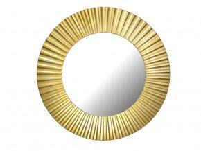 kulate zrcadlo lea 90cm zlata barva cerna patina 02